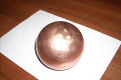 Шар для мануальной терапии бронзовый 5 кг.