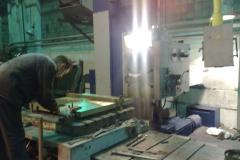 Изготовление бронзовой плиты размером 1000x1000 на расточном станке