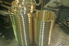 Заготовки колец бронзовых